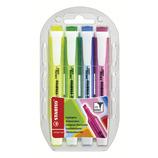 スタビロ(STABILO) スイングクール 4色セット 275-4│マーカー・サインペン 蛍光ペン