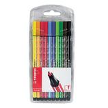 スタビロ(STABILO) ペン68 10色セット 6810-PL│マーカー・サインペン サインペン・水性マーカー