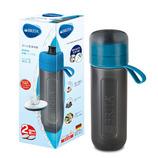 ブリタ(BRITA) ボトル型洗浄器 アクティブ カートリッジ2個付 ブルー│防災用品 簡易浄水器・ウォータータンク