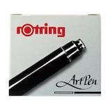 ロットリング アートペン用インクカートリッジ S0194751 ブラック