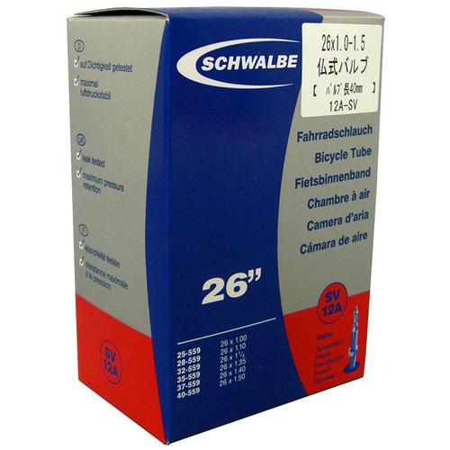 シュワルベ 仏チューブ袋 SV12A 26×1.0-1.5