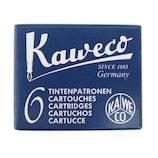 カヴェコ(Kaweco) インクカートリッジ KAWECO-INK ミッドナイトブルー 6本入