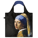 LOQI(ローキー) エコバッグ フェルメール JV.GI Girl with a Pearl Earring