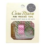 リュリュ コロマス ミニマスキングテープ CMT−22 スマイル&ピンク