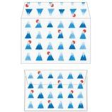 リュリュ ミニ封筒 富士山 FUM−09