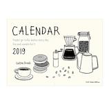 【2019年版・壁掛】 リュリュ イラストカレンダー C1901