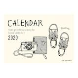 【2020年版・壁掛】リュリュ イラストカレンダー CK2001