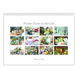 【2020年版・壁掛】リュリュ フラワーシーンカレンダー CK2002