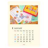 【2020年版・壁掛】リュリュ ZAKKAカレンダー CP2001