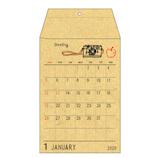 【2020年版・壁掛】リュリュ ポケットカレンダー CP2002