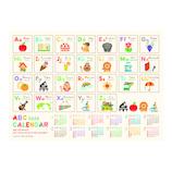 【2020年版・壁掛】リュリュ ABCアルファベットカレンダー CP2003