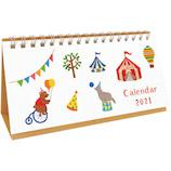 【2021年版・卓上】 リュリュ ステッチ卓上カレンダー CT-2106