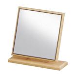 堀内鏡 ウッドスタンドミラー H−300 メープル