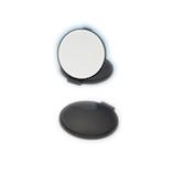 堀内鏡工業 ナピュア リアルズームアッププラスミラーコンパクト 7倍 RC−07BK ブラック│メイク道具・化粧雑貨 手鏡・卓上ミラー