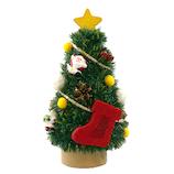 【クリスマス】ジャパン・オール・クリエイティブ ミニツリー HZ18-1 サンタ/ブーツ