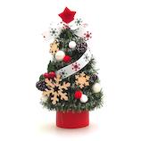 【クリスマス】JAC 東急ハンズ限定 クリスマスミニツリー HZ19‐3 ウッドスノー