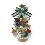 【クリスマス】 東急ハンズ限定 ミニツリー HZ20-06 ウッドスノー/トナカイ