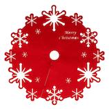 【クリスマス】 ジャパン・オール・クリエイティブ ツリースカート 65cm C-3153 スノーデザイン