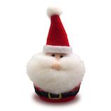 【クリスマス】 ジャパン・オール・クリエイティブ ウールオーナメント C-14196 サンタ