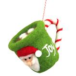 【クリスマス】 ジャパン・オール・クリエイティブ フェルトカップオーナメント C-14205 グリーン