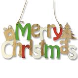 【クリスマス】 ジャパン・オール・クリエイティブ ウッドクリスマスサイン C-10232 マルチ