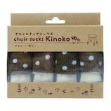 chair socks きのこのチェアソックス CSK-KNK-03 クリイロタケ 4本入