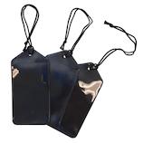 コンサイス ネームタッグ 3枚セット ブラック