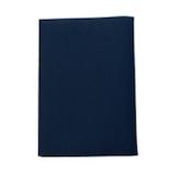 コンサイス 皮革調ブックカバーNo.3 新書版 紺│ブックカバー・製本用品 ブックカバー
