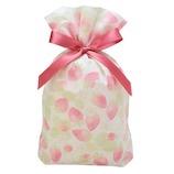 包む 巾着 グリタリングベリー Mサイズ TD003│ラッピング用品 ラッピング袋