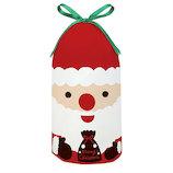 【クリスマス】 包む サンタ巾着BAG Sサイズ CD013
