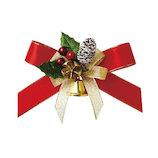 【クリスマス】 包む リボンオーナメント ホーリー R CO003