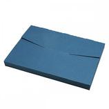 包む 配送ボックス Lサイズ シール付き H-TB021 ネイビー│ラッピング用品 ギフトボックス(組み立て)