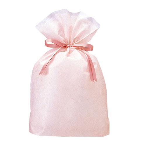 巾着バッグ シンシア ピンク L