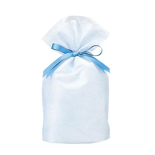 巾着バッグ シンシア ブルー S