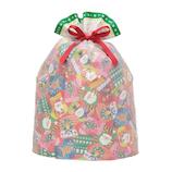 【クリスマス】包む カラフルくつ下巾着 C−2471