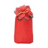 【クリスマス】包む ポインセチア巾着 L C−2473