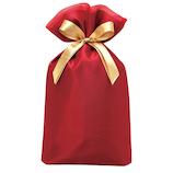 包む ノーブル オーガンジー巾着バッグ L T-2804-L ワインレッド