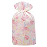 包む 巾着 グリタリングフラワー L T-2854-L ピンク