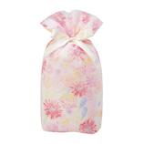 包む 巾着 グリタリングフラワー M T-2854-M ピンク