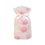 包む 巾着 グリタリングフラワー S T-2854-S ピンク