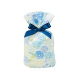 包む 巾着 グリタリングフラワー S T-2855-S ブルー
