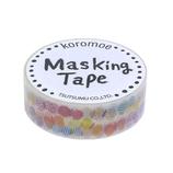 包む マスキングテープ 15mm M−0084 ちょうちょ