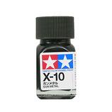 タミヤ エナメル塗料 X-10 ガンメタル
