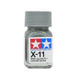 タミヤ エナメル塗料 X-11 クロームシルバー