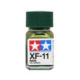 タミヤ エナメル塗料 XF-11 暗緑色