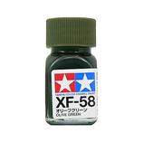タミヤ エナメル塗料 XF-58 オリーブグリーン