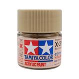 タミヤ アクリルミニ X-31 チタンゴールド│水性塗料 工作用水性塗料