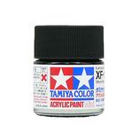 タミヤ アクリルミニ XF-1 フラットブラック│油性塗料 工作用油性塗料