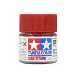 タミヤ アクリルミニ XF-7 フラットレッド│油性塗料 工作用油性塗料