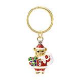 【クリスマス】Santa's Factory クリスマスバッグチャーム S035904 サンタベア
